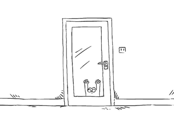 lời tạm biệt của mèo
